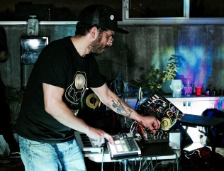 Deantoni Parks @ Mooi Collective - photo by Rodrigo Zamora