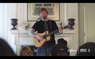 Ed Sheeran en Sofar Washington