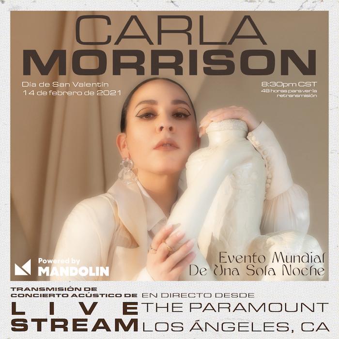 Carla Morrison Live Stream