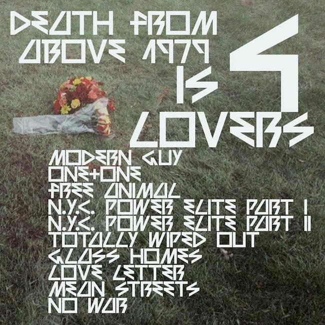 Is 4 Lovers Death From Above tracklist