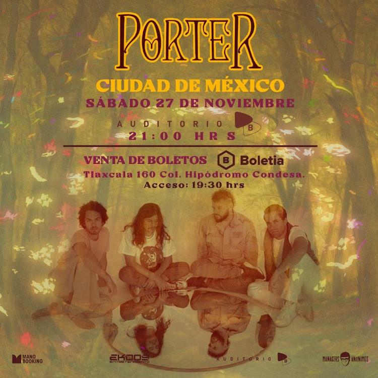 Porter 27 de Noviembre 2021 Auditorio BB